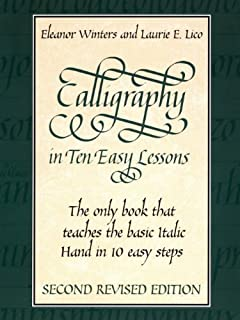 Lettering Calligraphy in ten e...