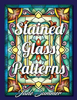 Lettering Stained glass patter...