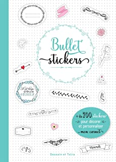 Lettering Bullet stickers: 100...