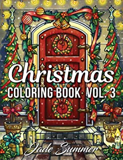 Lettering Christmas coloring b...