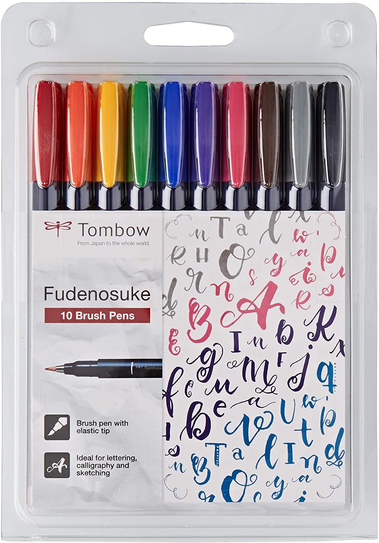 Fudenosuke 10 colores