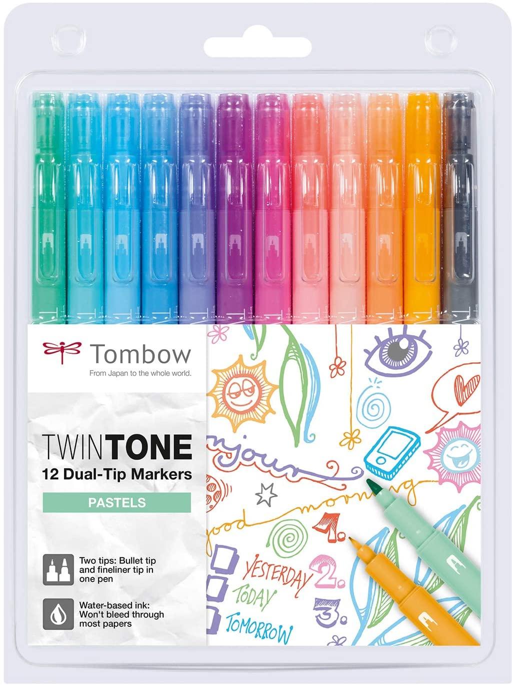 Twintone pastel 12 colores