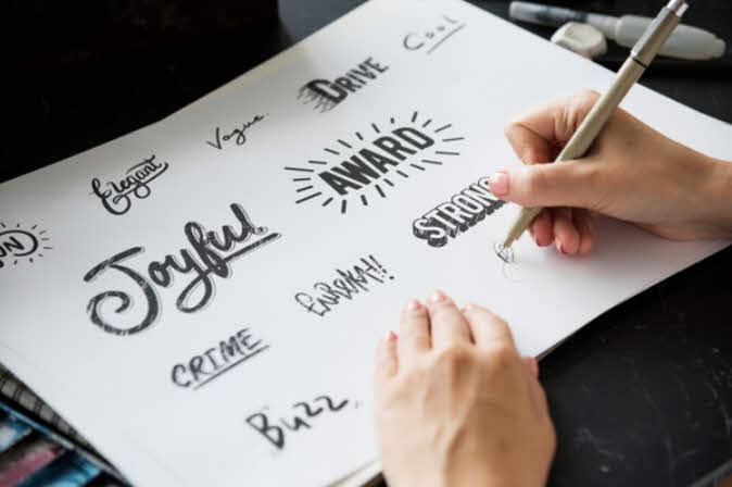 Lettering Caligrafía de lettering