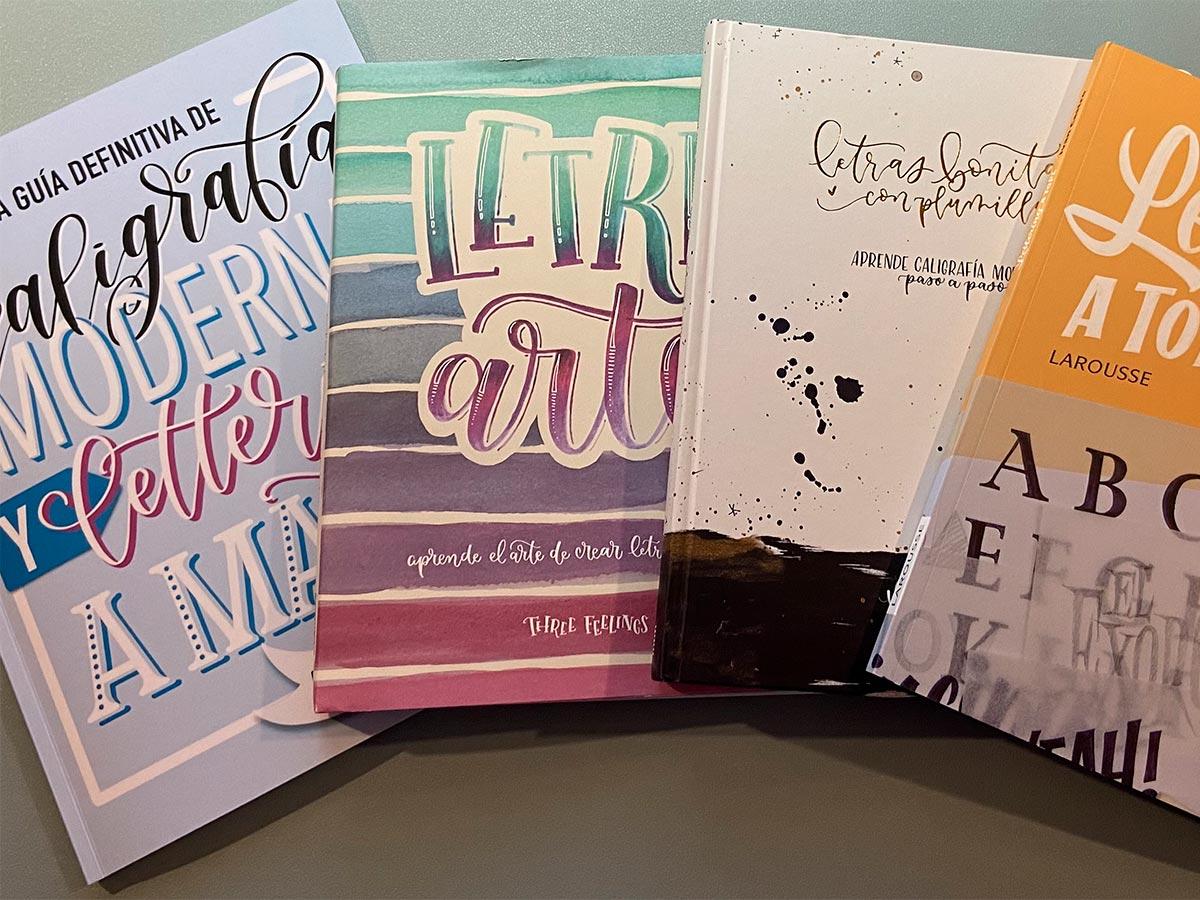 Lettering Libros de lettering