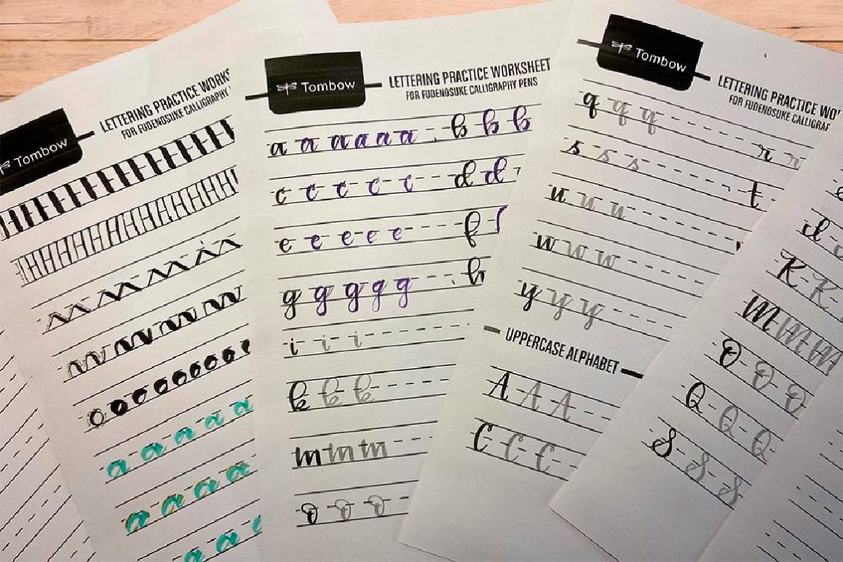 Lettering Plantillas de Lettering para imprimir