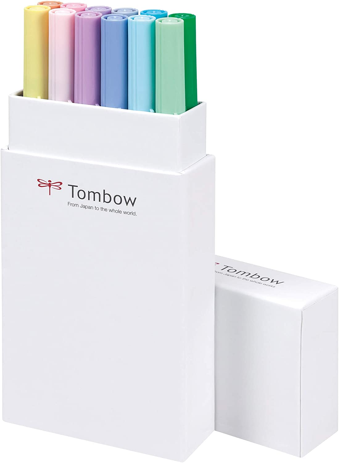 Tombow Dual Brush pen 12 colores pastel