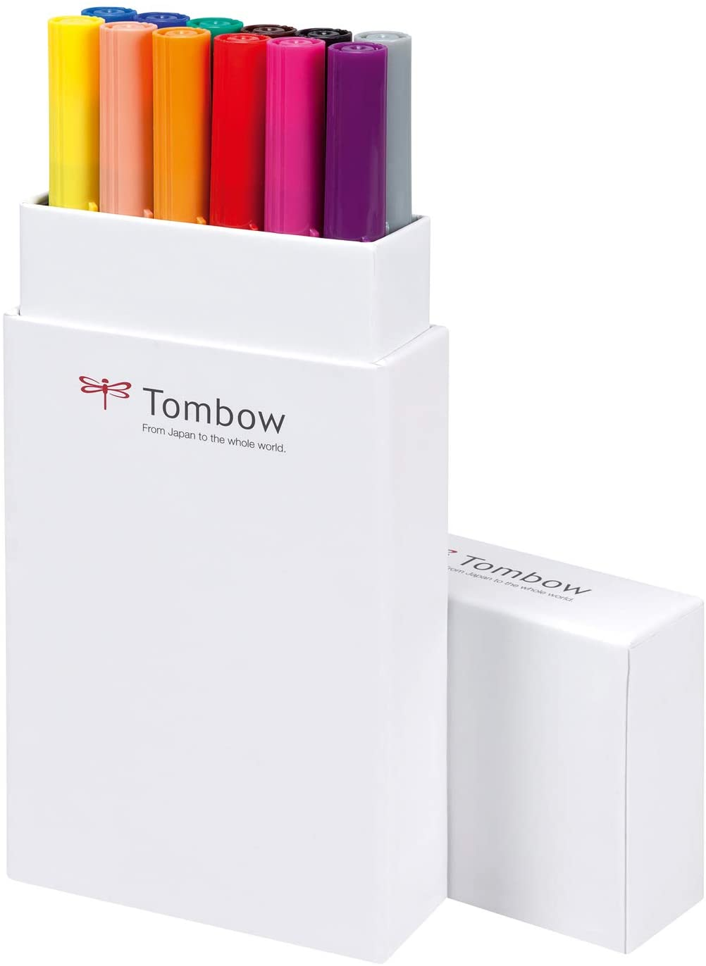 Tombow Dual Brush pen 12 colores primarios